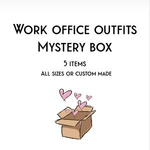 Pants - Work Outfits Style Mystery Box 5 ITEMS